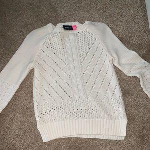 Children's place White sweater